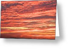 Wedding Sunset Greeting Card