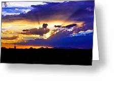 Wedge Of Light Greeting Card