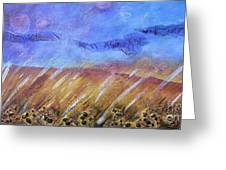 Weeds Among The Wheat Greeting Card