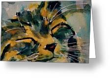 Weeeeeee Sleepee Greeting Card by Paul Lovering