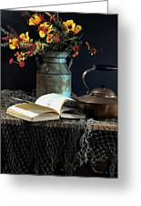 Week Days Greeting Card by Diana Angstadt