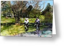 Weekend Riders Greeting Card