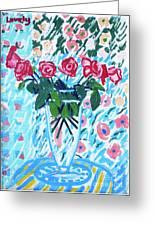 Weekend Roses Greeting Card