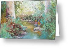 Weekends At The Creek Greeting Card
