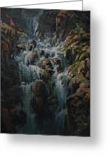 Weeping Rocks Greeting Card