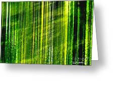 Weeping Willow Tree Ribbons Greeting Card