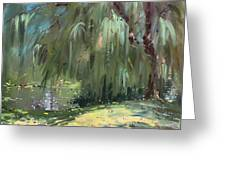 Weeping Willow Tree Greeting Card