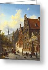 Weeshuis In Leiden Greeting Card