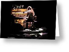 Weird Live Piano Greeting Card by Stwayne Keubrick