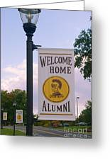 Welcome Home Banner Greeting Card