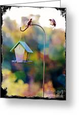 Welcome Neighbor - Digital Art Greeting Card