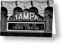 Welcome Tampa Greeting Card