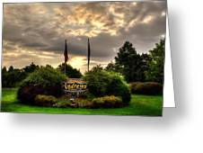 Welcome To Andrews North Carolina Greeting Card