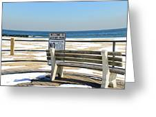 Welcome To Asbury Park Greeting Card