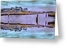 Welcome To Bald Head Island II Greeting Card