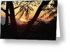 Welcome To Jamaica 7 Rise   Greeting Card