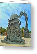 Welcome To Playa Del Carmen Mexico Greeting Card