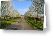 Welcome To The Farm Greeting Card