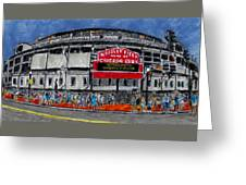 Welcome To Wrigley Field Greeting Card