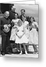 Welk And The Lennon Sisters Greeting Card