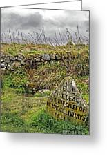 Well Of The Dead Greeting Card
