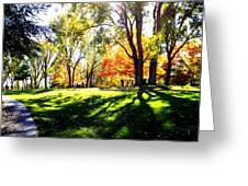 Well Traveled Path Greeting Card