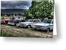 Well Used Cars For Sale Greeting Card