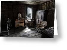 Wells Hotel Bridal Suite - Garnet Ghost Town - Montana Greeting Card