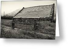 Welsh Farm Building Greeting Card