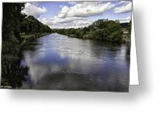 Welsh River Scene Greeting Card