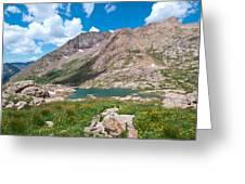 Weminuche Wilderness Area Landscape Greeting Card
