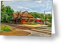 Wenonah Train Station Greeting Card