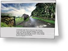 Wensleydale Road Greeting Card by Mike Hoyle