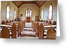 Wesleyan Methodist Church Greeting Card
