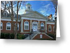 West Avenue Library Greeting Card