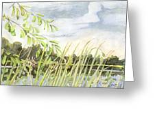 West Bay Napanee River Greeting Card