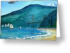 West Coast Dream Greeting Card
