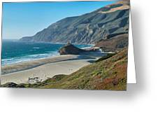 West Coast Serenity Greeting Card by Rob Wilson
