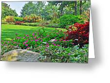 West End Garden Greeting Card