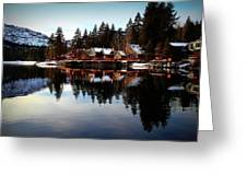 West End Of Donner Lake Greeting Card
