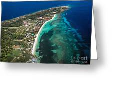 West End Roatan Honduras Greeting Card