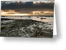West Mersea View Greeting Card