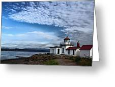 West Point Lighthouse II Greeting Card