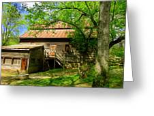 West Point Mill House Greeting Card