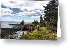 West Quoddy 4038 Greeting Card