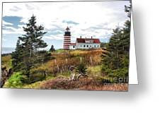 West Quoddy 4041 Greeting Card