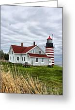 West Quoddy 4214 Greeting Card