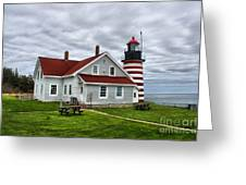 West Quoddy 4216 Greeting Card