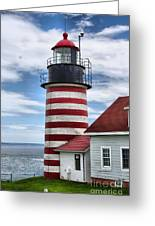 West Quoddy 4226 Greeting Card