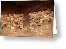 West Ruin Boynton Canyon Greeting Card
